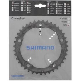 Shimano Alivio FC-M415 - Platos - 7/8 velocidades Plateado